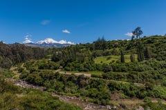 Vulcão de Cayambe foto de stock royalty free