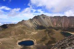 Vulcão de Citlaltepec imagem de stock