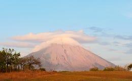 Vulcão de Concepción, Nicarágua. foto de stock