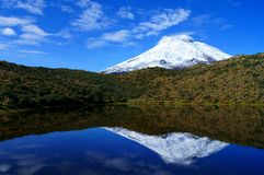Vulcão de Cotopaxi Fotografia de Stock Royalty Free