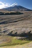 Vulcão de Cotopaxi em Equador Fotografia de Stock