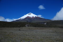 Vulcão de Cotopaxi - Equador fotografia de stock royalty free