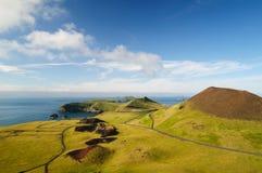 Vulcão de Eldfell Imagens de Stock Royalty Free