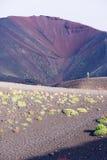 Vulcão de Etna Fotografia de Stock
