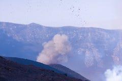 Vulcão de Etna Imagem de Stock