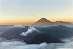 Vulcão de Gunung Bromo Imagens de Stock