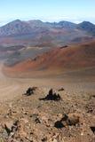 Vulcão de Haleakala Fotos de Stock