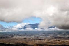 Vulcão de Havaí Fotos de Stock