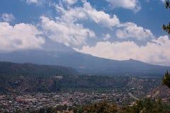 Vulcão de Iztaccihuatl Foto de Stock Royalty Free