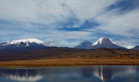 Vulcão de Kamchatka foto de stock
