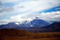 Vulcão de Kamchatka imagem de stock