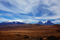Vulcão de Kamchatka fotos de stock