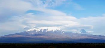 Vulcão de Kamchatka fotografia de stock royalty free