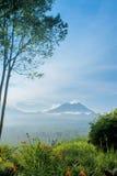 Vulcão de Kawah Ijen, Indonésia Imagens de Stock
