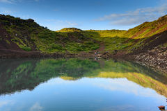 Vulcão de Kerid Imagens de Stock