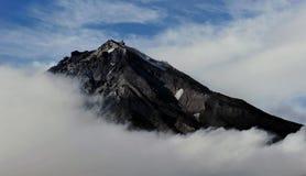 Vulcão de Koryaksky fotos de stock royalty free