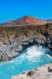 Vulcão de Lanzerote imagens de stock royalty free