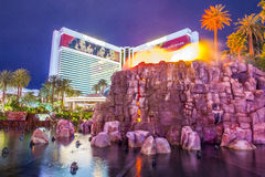 Vulcão de Las Vegas Fotos de Stock Royalty Free