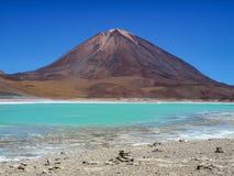 Vulcão de Licancabur imagens de stock