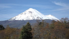 Vulcão de Llaima Fotografia de Stock Royalty Free
