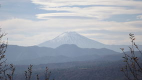 Vulcão de Lonquimay do parque de Conguillio Fotografia de Stock