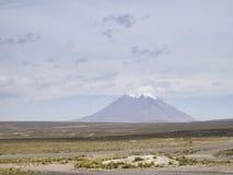 Vulcão de Misti no Peru Fotos de Stock Royalty Free
