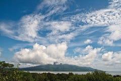 Vulcão de Momotombo foto de stock