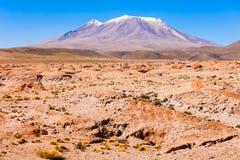 Vulcão de Ollague fotos de stock royalty free