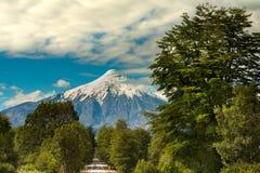 Vulcão de Osorno imagem de stock