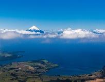 Vulcão de Osorno no Chile Imagem de Stock