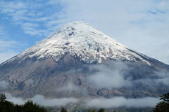 Vulcão de Osorno no Chile fotografia de stock royalty free
