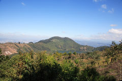 Vulcão de Pacaya imagem de stock