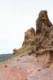 Vulcão de Pico del teide com formação de pedra roques de García Fotos de Stock Royalty Free