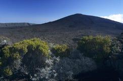 Vulcão de Piton de la Fournaise, Reunion Island Fotografia de Stock Royalty Free