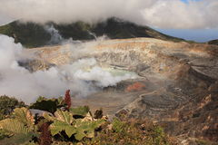 Vulcão de Poas Fotografia de Stock