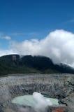 Vulcão de Poas imagens de stock royalty free