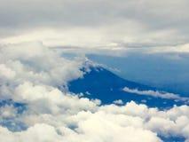 Vulcão de Popocatepetl Fotografia de Stock