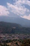 Vulcão de Popocatepetl Foto de Stock