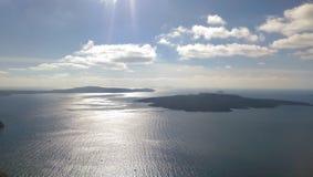 Vulcão de Santorini Imagem de Stock