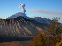 Vulcão de Semeru, Java oriental Imagem de Stock
