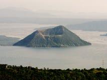 Vulcão de Taal nas Filipinas Fotografia de Stock Royalty Free