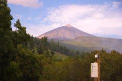 Vulcão de Teide imagem de stock royalty free