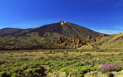 Vulcão de Teide, Tenerife Foto de Stock