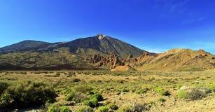 Vulcão de Teide, Tenerife Fotos de Stock Royalty Free