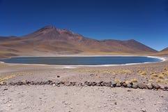 Vulcão, deserto de Atacama, o Chile imagens de stock royalty free