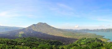 Vulcão do Balinese Fotografia de Stock