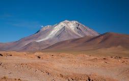 Vulcão do ¼ e de Ollagà bolívia Foto de Stock