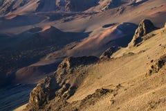 Vulcão dormente em Havaí. Imagem de Stock Royalty Free