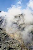 Vulcão em consoles eólios Imagens de Stock