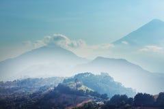 Vulcão em Guatemala Foto de Stock